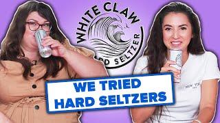 We Tried Hard Alcohol Seltzers • Ladylike