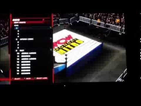 WWE 2k14 WCW Monday Nitro By Yakupnwo