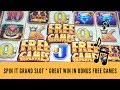 SPIN IT GRAND SLOT * GREAT WIN IN BONUS FREE GAMES * SunFlower Slots