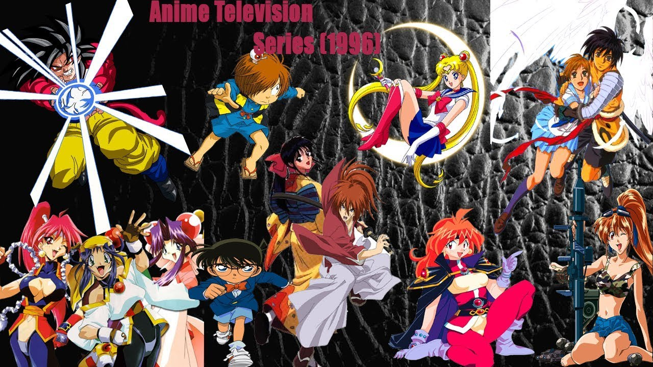 Top animes by years anime television series 1996