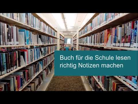 Buch lesen und richtig Notizen machen from YouTube · Duration:  3 minutes 1 seconds
