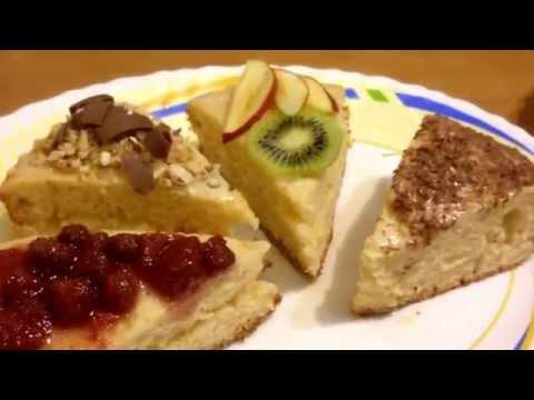 Бисквитный шоколадный торт в мультиварке