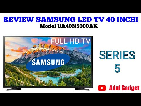 REVIEW SAMSUNG LED TV 40 INCHI SERIES 5 MODEL UA40N5000AK #samsungledtv