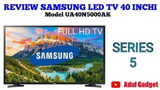 REVIEW SAMSUNG LED TV 40 INCHI SERIES 5 MODEL UA40N5000AK #samsungledtv