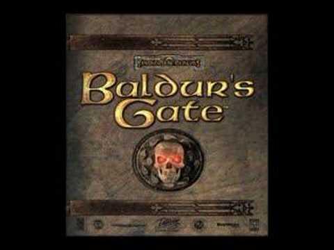 Baldur's Gate Music- Attacked by Bounty Hunters