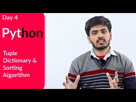 Class 12 Computer Science Python For Board Exam | Tuples, Dictionary And Sorting Algorithm | Day 4