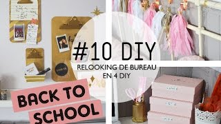 #10 DIY // Relooker son bureau en 4 DIY I BACK TO SCHOOL