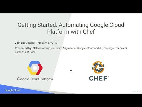 Chef and Google Cloud Platform