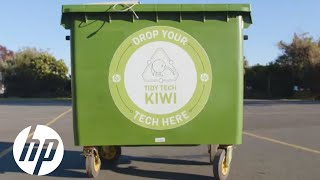 Be a Tidy Tech Kiwi with HP New Zealand  Sustainable  mpact  HP