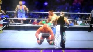 WWE Wrestlemania XXX tag team match