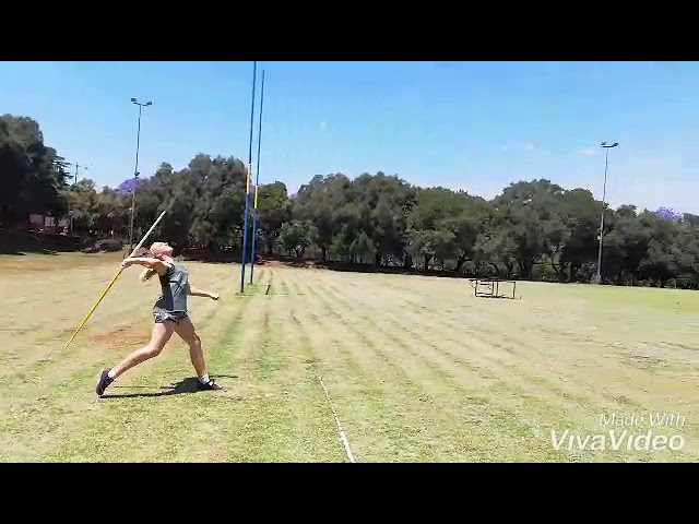 #International Virtual Athletics | Girls 12| Anushca Clark| Javelin