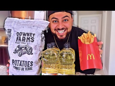 Thumbnail: DIY MCDONALD'S FRENCH FRIES!! (How To Make McDonald's French Fries)