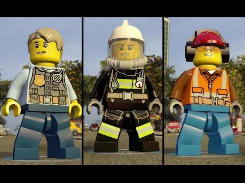 LEGO Dimensions - Chase McCain - Unlocking all Uniforms (LEGO City Adventure World)