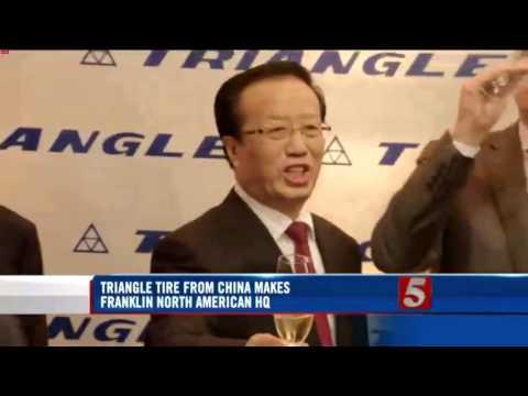 Triangle Tire USA - Nashville CBS News November 2, 2015