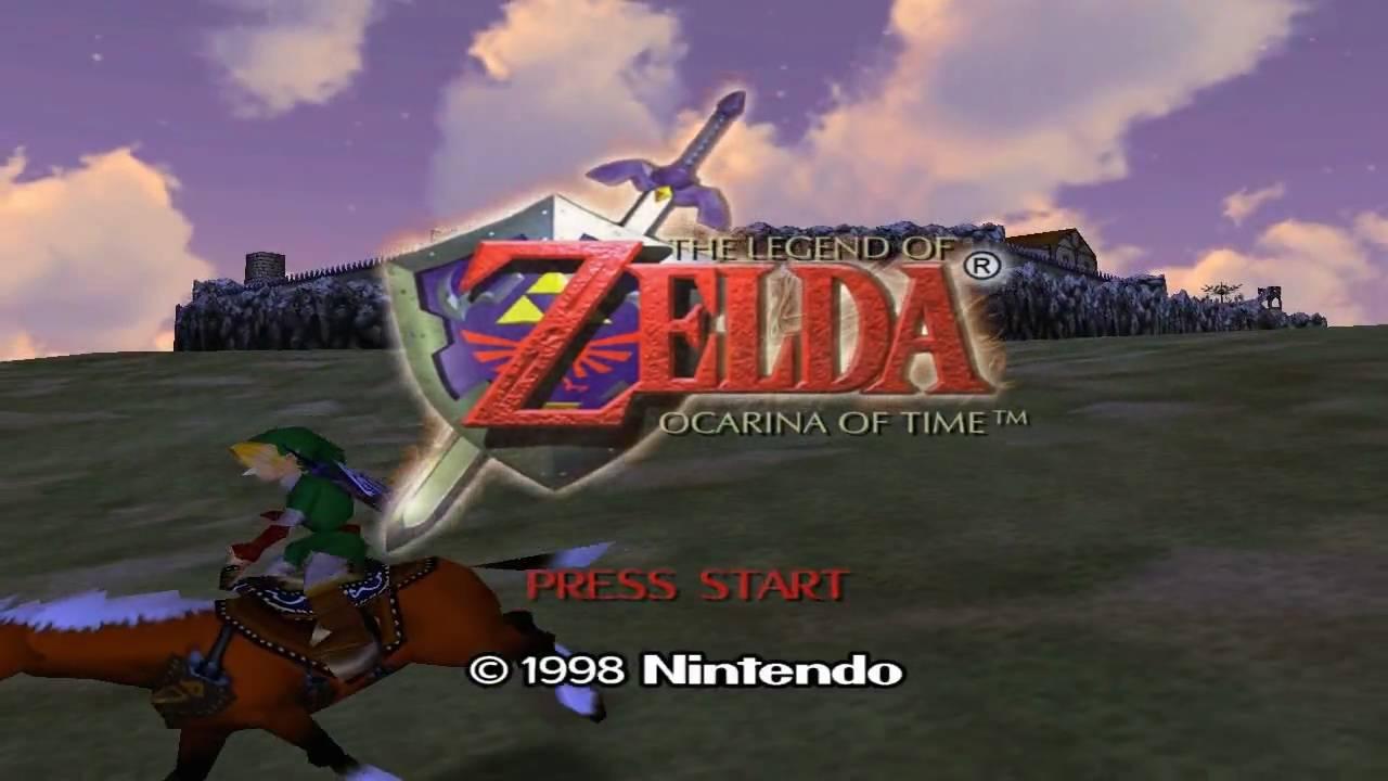 Zelda Ocarina Of Time 3d Wallpaper Zelda Ocarina Of Time Intro Hd Youtube