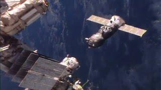 ISS Progress 62 undock & re-dock
