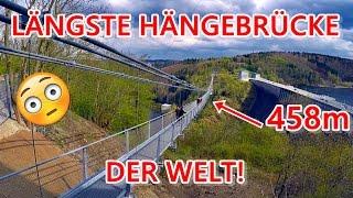 Längste Hängebrücke der Welt! | Rappbode Talsperre