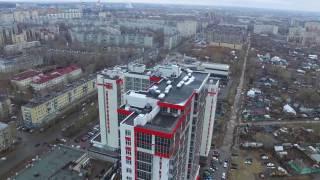 Казань с высоты птичьего полёта