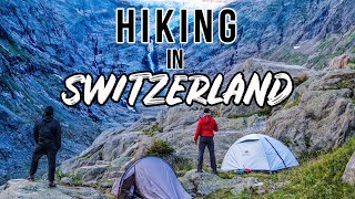 HIKING IN SWITZERLAND | TRIFT BRIDGE | CINEMATIC VIDEO