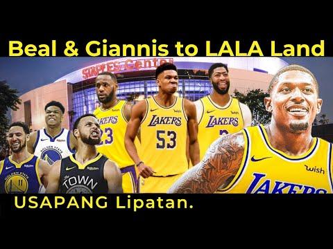 Bradley Beal at Giannis to Lakers PAANO Magaganap? Warriors Hindi Magpapahuli. USAPANG LIPATAN.