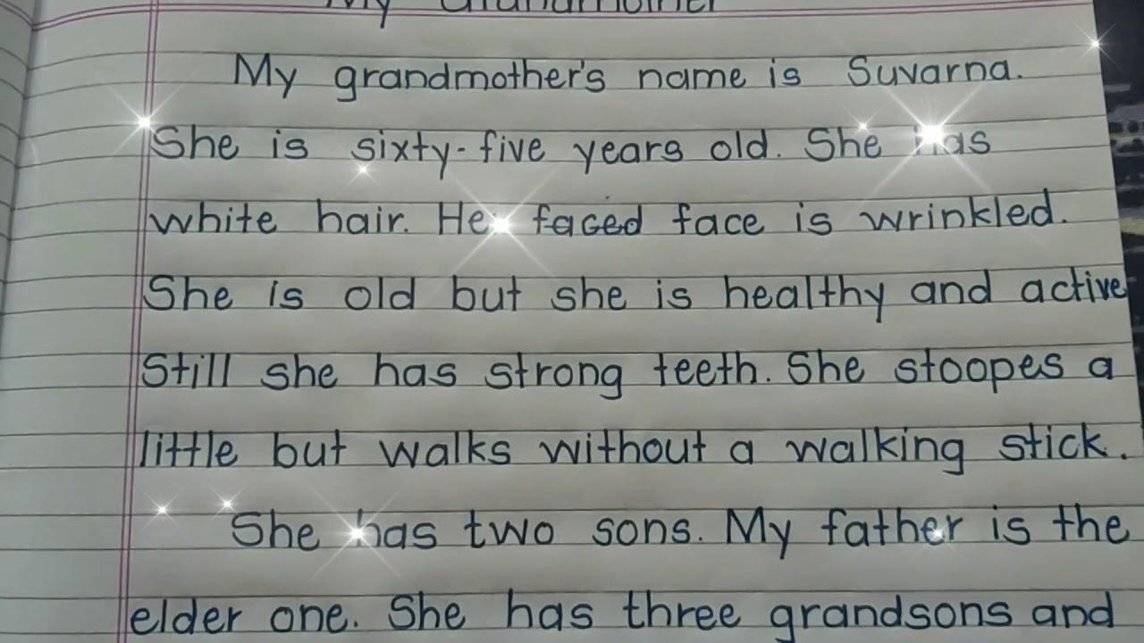 My grandparents essay
