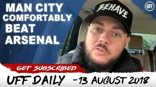 LIVERPOOL OVERWHELM WEST HAM | MAN CITY COMFORTABLY BEAT ARSENAL | UFF Daily