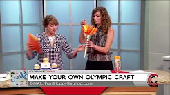 Holly Peppin Olympic Crafts - July 19, 2016