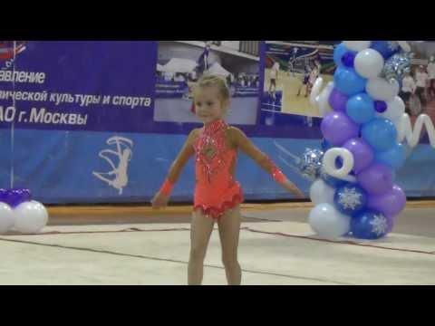 Художественная гимнастика Мария Зябликова 5 лет (2008)