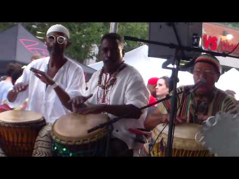 The Drummers At H Street Festival 2017 - Washington DC - 9/17/2017.