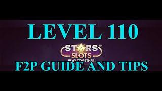 STARS SLOTS CASINO LEVEL 110 F2P TIPS AND GUIDE screenshot 2