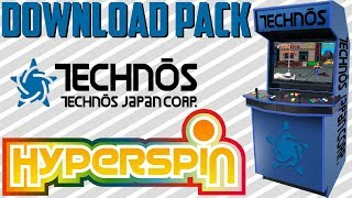 HYPERSPIN / PACK TECHNOS ARCADE