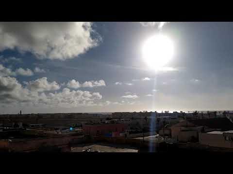 مدينة سيدي إفني زمن الحجر الصحي