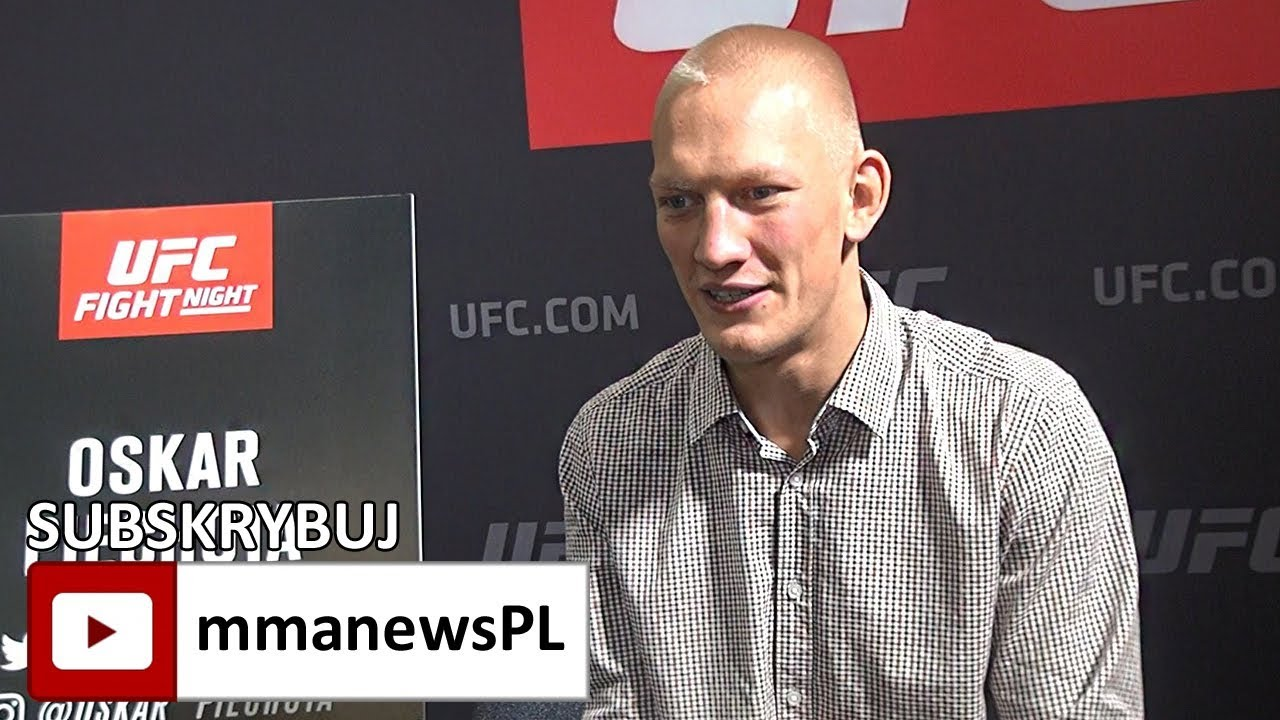 Oskar Piechota w topowej formie przed walką z Wilsonem na UFC w Gdańsku