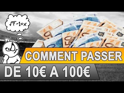 PARIS SPORTIFS : PASSER DE 10€ A 100€