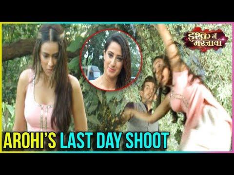 Nia Sharma Last Day Shoot   Ishq Mein Marjawan  Tellymasala