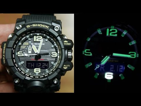 60651d8875a Casio G-shock MUDMASTER GWG-1000-1A   TRIPLE SENSOR MONSTER WATCH - YouTube