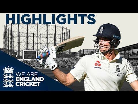 Denly Puts England In Control | The Ashes Day 3 Highlights | Fifth Specsavers Ashes Test 2019