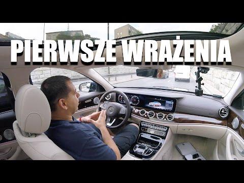 (PL) Pierwsze Wrazenia - Mercedes-Benz Klasy E