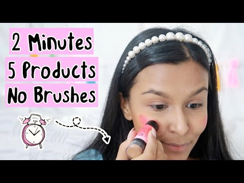 2 MINUTE Makeup Routine That Every Girl Should Know / Easy Everyday Makeup - YouTube