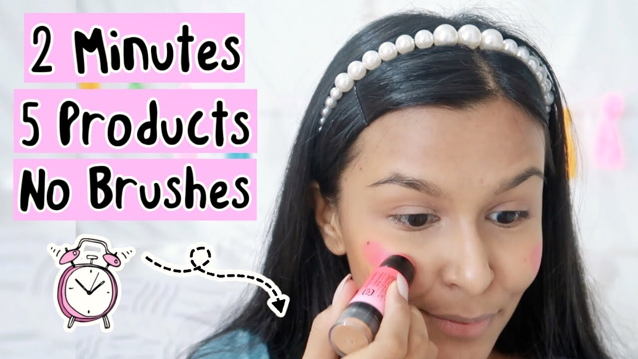 2 MINUTE Makeup Routine That Every Girl Should Know / Easy Everyday Makeup