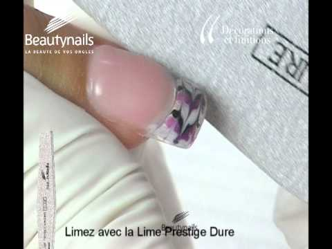 Decoration ongle en gel youtube