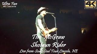 Tim McGraw - Shotgun Rider Live from Soul2Soul Lincoln, NE