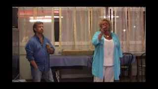 Karaoke Armando e Franca cantano SHARAZAN di Albano e Romina