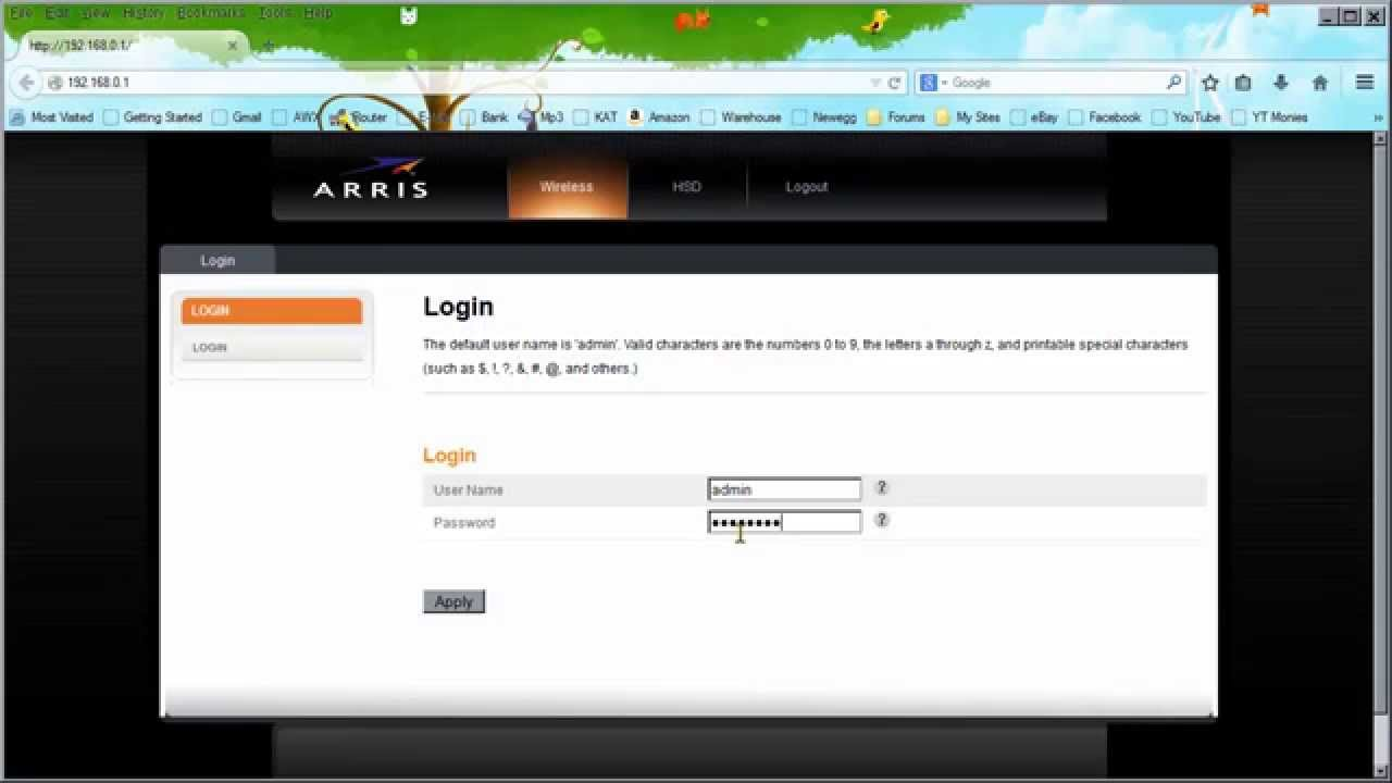 maxresdefault how to put arris gateway cable modem into bridged mode youtube  at mifinder.co