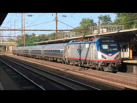 Railfanning the Evening Rush at Trenton Transit Center (Amtrak and SEPTA Action) 7/15/16