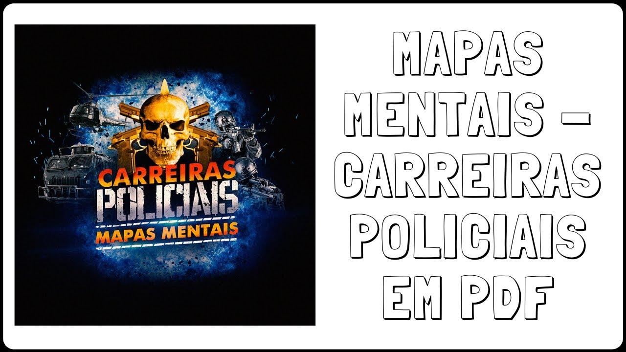 mapas mentais policia civil df
