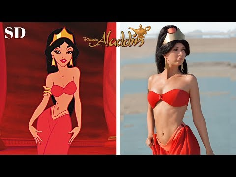 Disney Aladdin Characters In Real Life !!