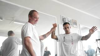 'Accepting force' within an open structure in Wing Chun - part 2