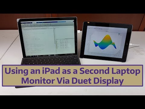 Using An IPad As A Second Laptop Monitor Via Duet Display