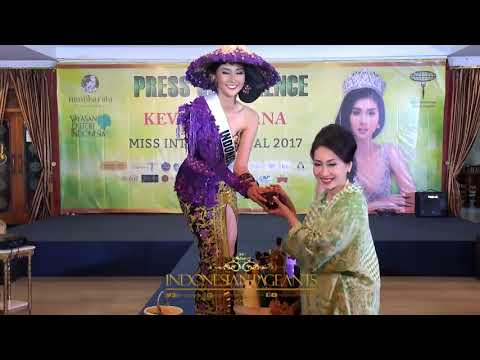 IP News Update : Press Conference Kevin Liliana Goes To Miss International 2017